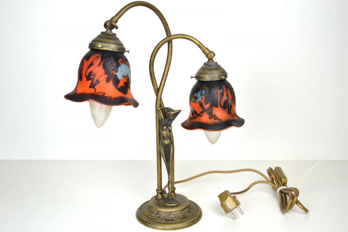 Lampada stile Liberty, Lampade Ministeriali / Lettura, Illuminazione ...