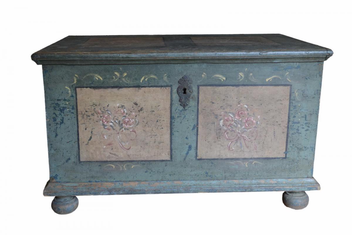Vendita Mobili Per Corrispondenza.Antico Baule Mobili Dipinti E Decorati Mobili Antichi Oggetti