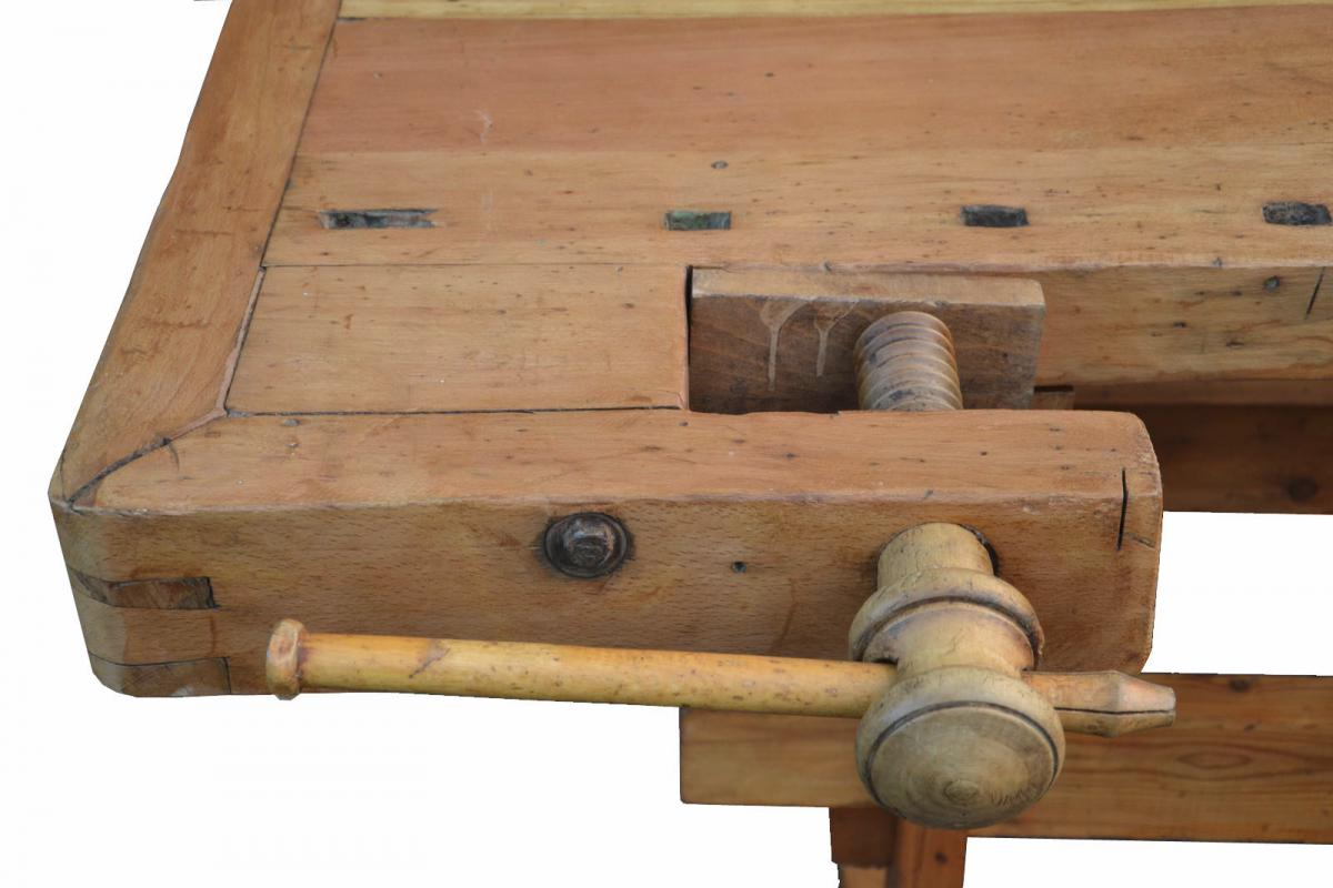 Banco Da Falegname Antico tavolo da falegname, mobili in abete naturale, mobili antichi,