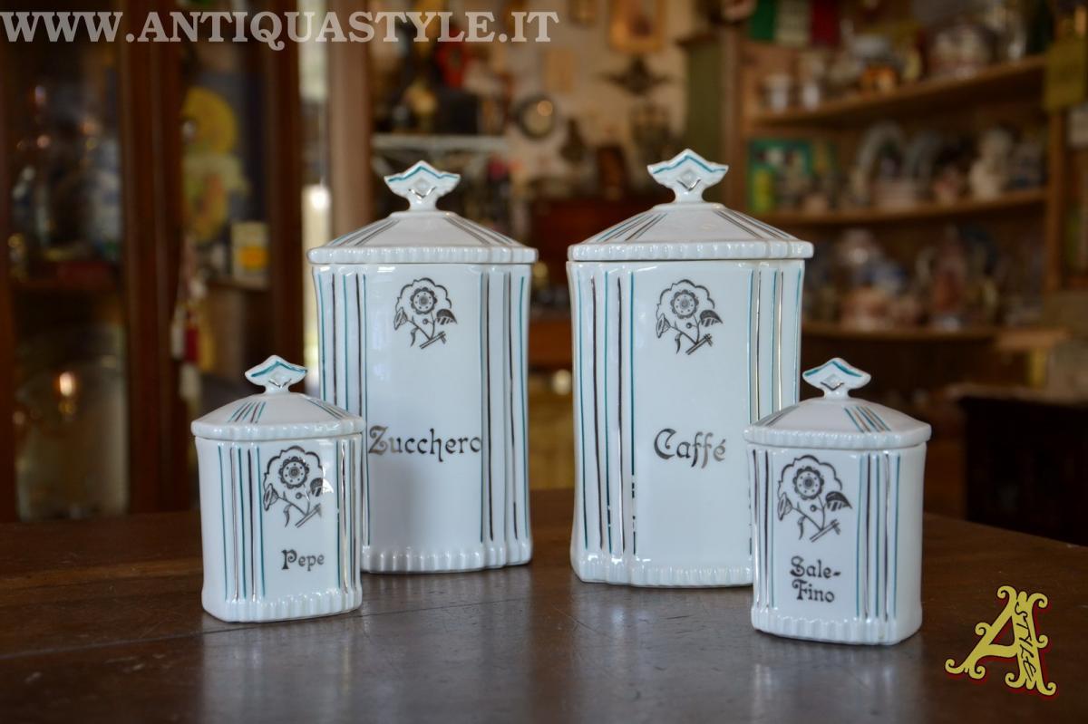 Vecchi barattoli cucina in ceramica decorata laveno altro materiale oggetti ruraliceramica - Pomelli ceramica per cucina ...
