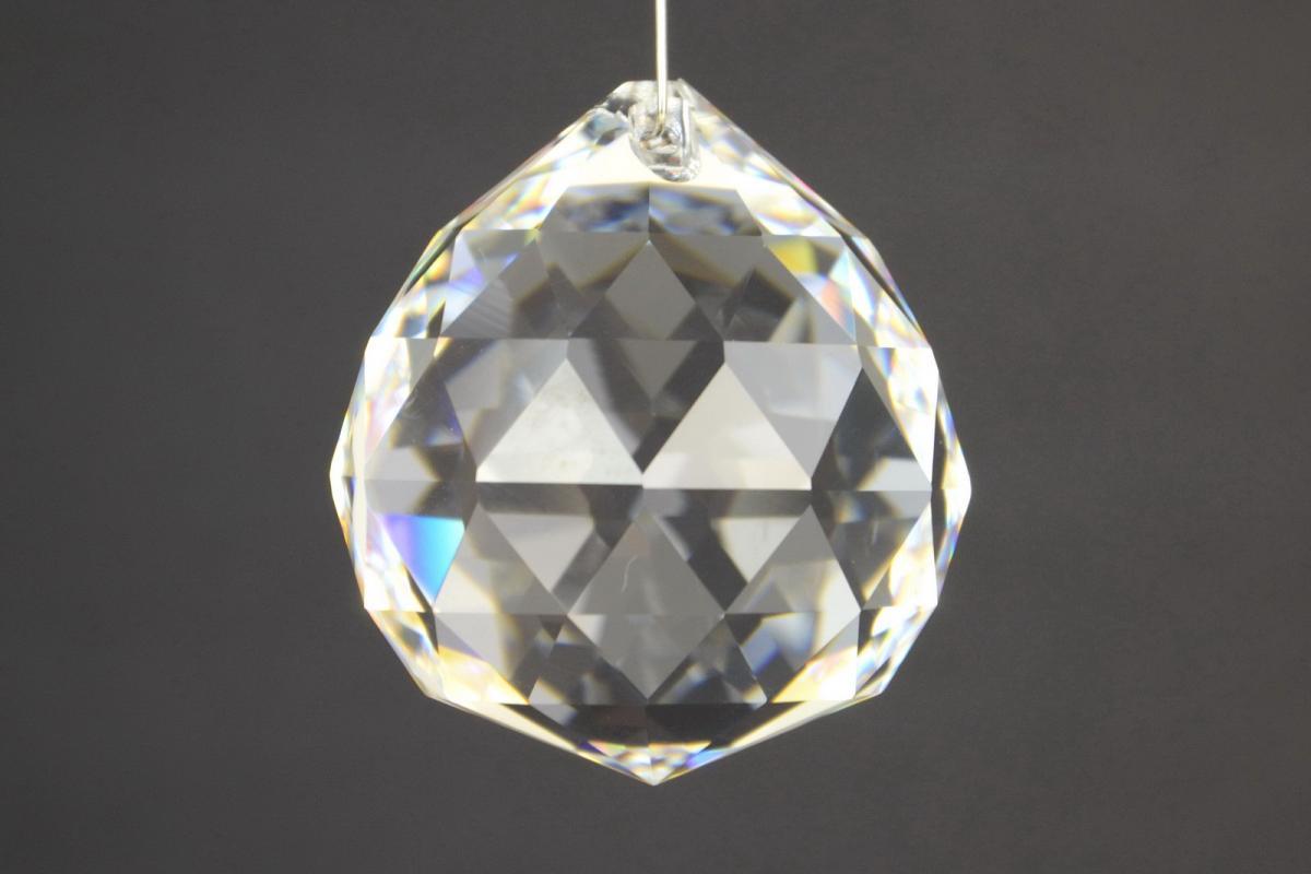 Ricambi Sfere Di Vetro Per Lampadari.Sfera Sfaccettata In Cristallo Cristallo Asfour Ricambi