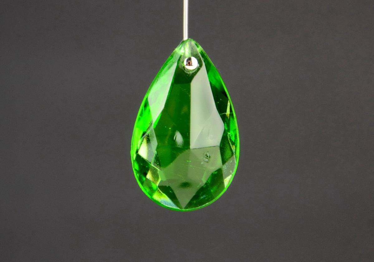 Goccia in vetro colorato gocce colorate ricambi lampadario