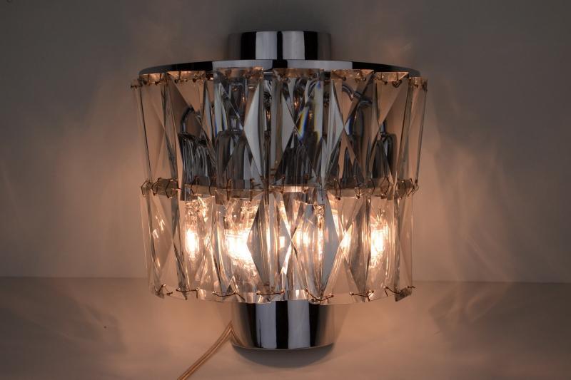 Applique con cristalli applique illuminazione oggetti vecchi e