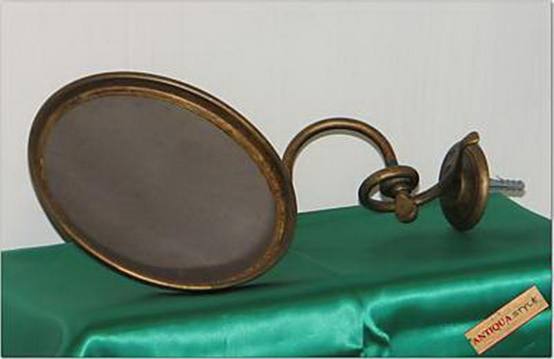Specchio ingrandimento ottone anticato ottone serie - Specchio anticato ...